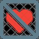Forbidden Love No Love Stop Love Icon