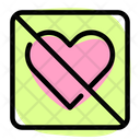 Forbidden Love No Love Stop Love Icon