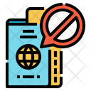 Protection Forbidden Passport Icon
