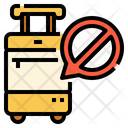 Protection No Suitcase Luggage Icon