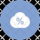 Forecast Percent Percentage Icon