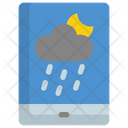 Mobile Weather Rain Icon