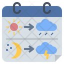 Forecast Weather Climate Icon