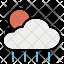 Forecast Sun Rain Icon