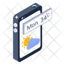Mobile Weather App Forecast App Weather App Icon