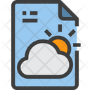 Forecast File Icon