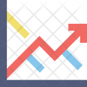 Forecasting Trending Arrow Icon