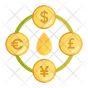 Mforeign Currency Foreign Currency Money Exchange Icon