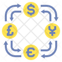 Iforeign Currency Exchange Icon