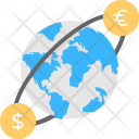 World Currency Global Icon