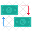 Foreign Exchange Money Exchange Dollar Icon