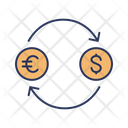 Foreign Exchange Money Exchange Transfer Money Icon