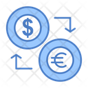 Foreign Exchange Money Conversion Currency Exchange Icon