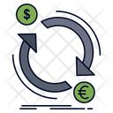 Exchange Currency Finance Icon