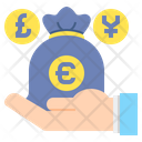 Foreign Investment Busines Currencies Icon
