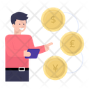 Backer Foreign Investor Financier Icon