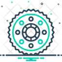 Foreman Gear Engineer Cogwheel Icon