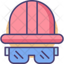 Foreman Gear Worker Cap Worker Helmet Icon