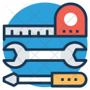 Foreman Tools Construction Icon