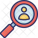 Forensics Investigation Investigation Technique Icon