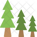 Fir Trees Winter Icon