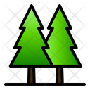 Forest Pine Nature Icon