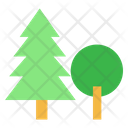 Tree Adventure Outdoor Icon