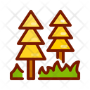 Forest Tree Pine Tree Icon