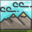 Nature Mountain Adventure Icon