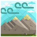 Nature Mountain Adventure Icon
