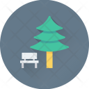 Forest Bench Pine Icon