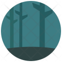 Forest Dark Night Icon