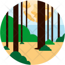 Forest Trunk Icon