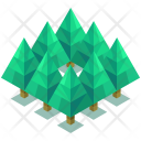Forest Jungle Greenery Icon
