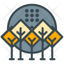 Forest Greenery Tree Icon