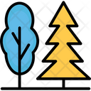 Forest Pine Tree Shrub Tree Icon