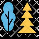 Forest Pine Tree Shrub Tree Icon
