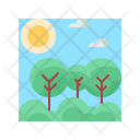 Nature Tree Landscape Icon