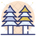 Forest Woodland Plantation Icon