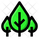Forest Ecology Tree Icon