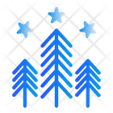 Winter Forest Nature Icon