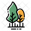 Forest Trees Landscape Icon