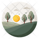 Forest Nature Landscape Icon