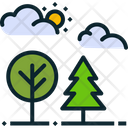 Nature Park Wood Icon