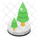 Forest Land Woodland Icon
