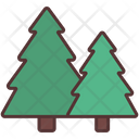 Trees Forest Camping Icon