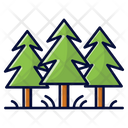 Forest Nature Ecology Icon