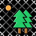 Nature Adventure Camp Icon