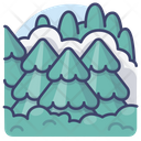 Woods Landscape Nature Icon