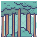Woods Jungle Rainforest Icon